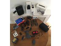 DJI Mavic Pro with accessories