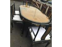 Chinese unique table & chairs