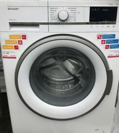 SHARP Washing Machine, EX DISPLAY