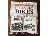 Classic Bike DVD & Book Set.