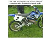 Yz125 2001