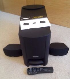 Bose CineMate II 2.1 Digital Home Home Theatre System two Speakers plus Subwoofer