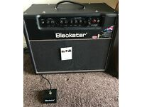 Blackstar HT20 (20 Watt Valve amp) with foot switch. Brand new with tags and stickers still on.