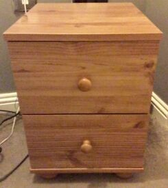 Bedside Cabinets x 2