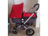 Bugaboo cameleon black and red