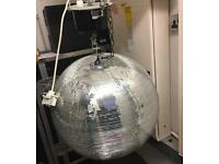 Disco Mirror ball with motor