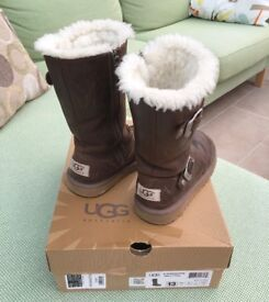 UGG Kensington Toast boots, used but in very good condition, UK size 12
