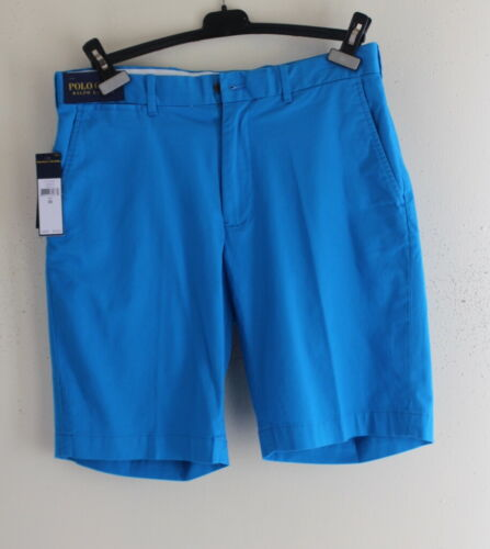 Nwt Polo Golf Ralph Lauren Turquoise Blue Cotton Twill Classics Shorts Sz 30 $75