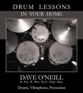 Drum Lessons in Your Home Kitchener / Waterloo Kitchener Area image 1
