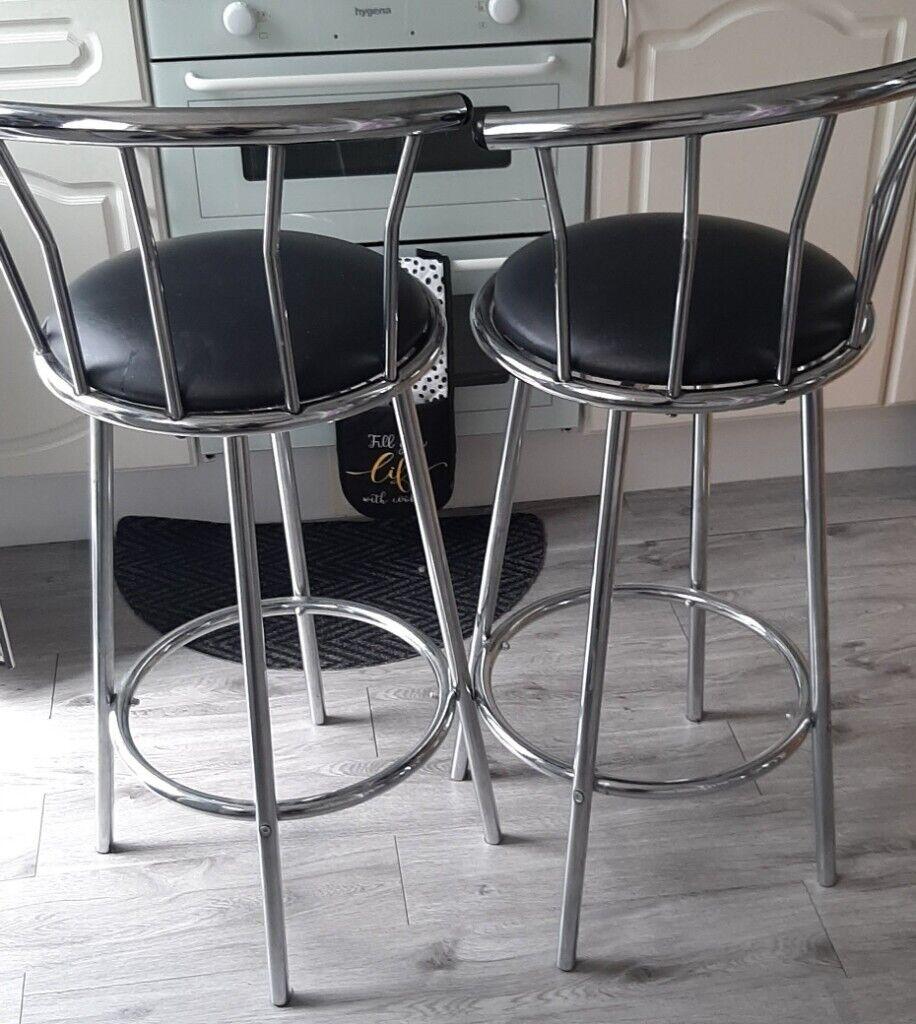 9 swivel kitchen bar stools £9   in Falkirk   Gumtree