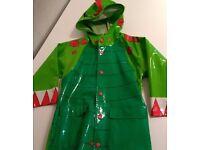 Dinosaur rain coat (younger child Medium)