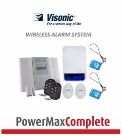 Powermax Visonic Complete Wireless Alarm System