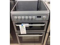 ***NEW Hotpoint 60cm wide electric ceramic cooker for SALE with 1 year guarantee ***