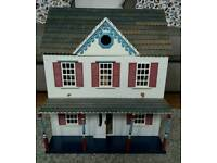 Furnished Wooden Dolls House
