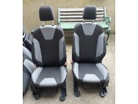 Ford Focus 2013 Car Seats Front and Rear, with headrests