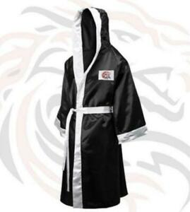 Boxing Gown , Boxing Robes Full Length with Hood only @ BENZA SPORTS