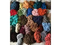 6 mm ropes residues for knitting and other matters