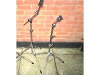 Drums - Stagg - Boom Cymbal Stand and Straight Cymbal Stand VGC