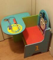 Thomas children's chair with built in cup holder