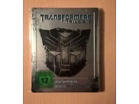 "Transformers Trilogy (Blu Ray Steelbook, German Import ""RARE"") £40 o.n.o"