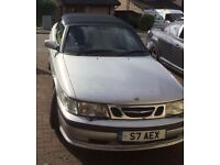 Saab 9-3 Convertible plus Private Plate