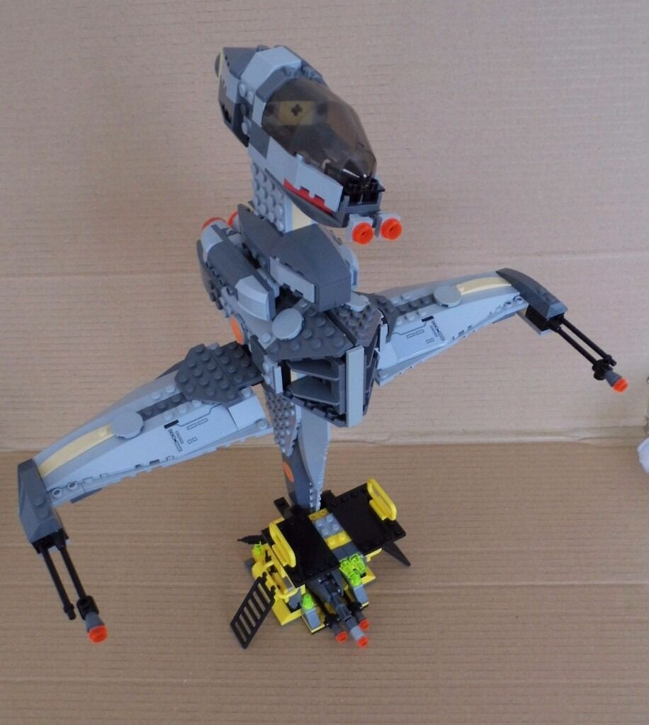 Lego Starwars B Wing Fighter 6208 No Minifigs No Text Messages