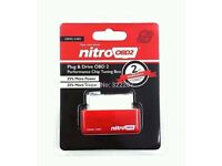 Nitro obd chip tuning box plug and play diesel Remap