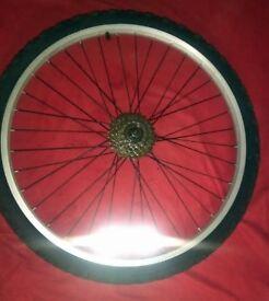 Rear Mountain Wheel & Tyre , Hardly Used