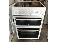 HOTPOINT CREDA GLASS PLATE ELECTRIC COOKER EXCELLENT CONDITION, 4 MONTH WARRANTY