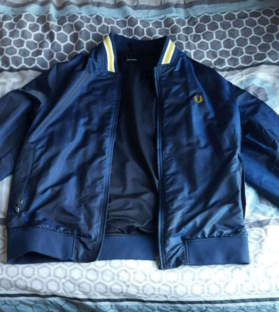 Un-worn Fred Perry jacket