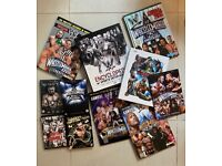 WWE Collection of Books, DVDs JOB LOT