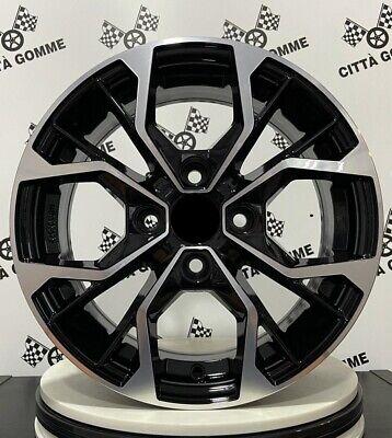4 Llantas de Aleación Compatible para Hyundai i10 i20 Accent Atos Getz...