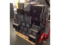 120x JVC Broadcast Spec CRT Monitors