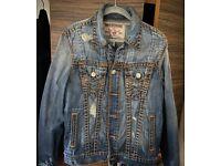 True Religion 'Super T' Denim Jacket - Rrp £250 - Not Jeans or Hoodie