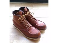 Red Wing 6in Classic Moc Toe Boots - Size 11