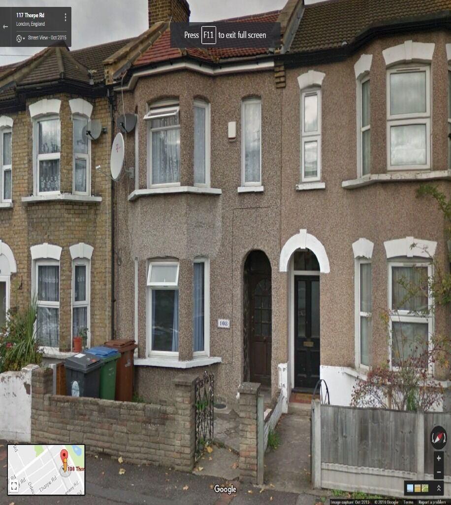 REFURBISHED BEAUTIFUL 4 BEDROOM HOUSE READY TO MOVE IN FOREST GATE (E7) GOOD PART/DSS WELCOM