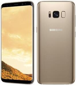 Samsung Galaxy SM-G950FD S8 Dual SIM 64GB Midnight Black/Orchid Gray/Maple Gold - Factory Unlocked