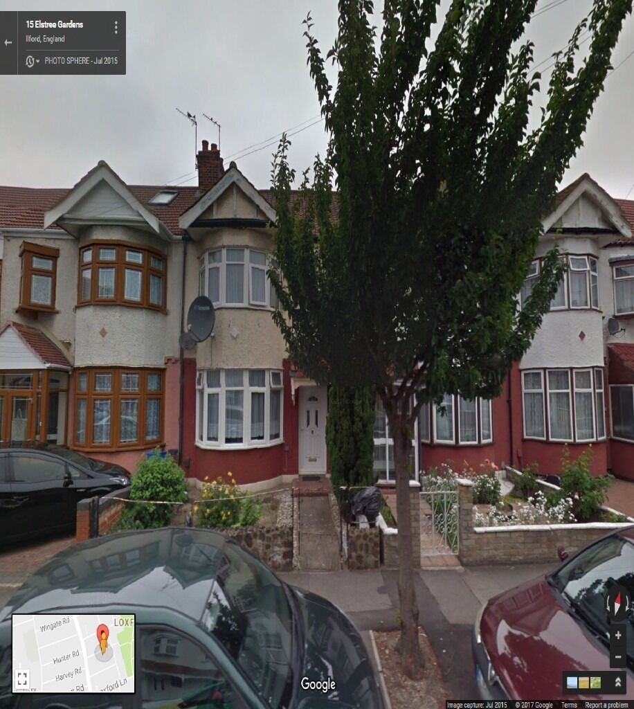 SPACIOUS 3 BEDROOM HOUSE WITH 2 SEP REC TO LET IN ILFORD(IG1) MINS FROM BARKING STATION