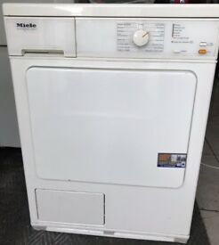 MIELE 8kg condenser dryer £150 free delivery good condition