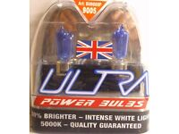 * * * * 2 Ultra HB3 (9005) 12v - 5000K Xenon Power Bulbs * * * *