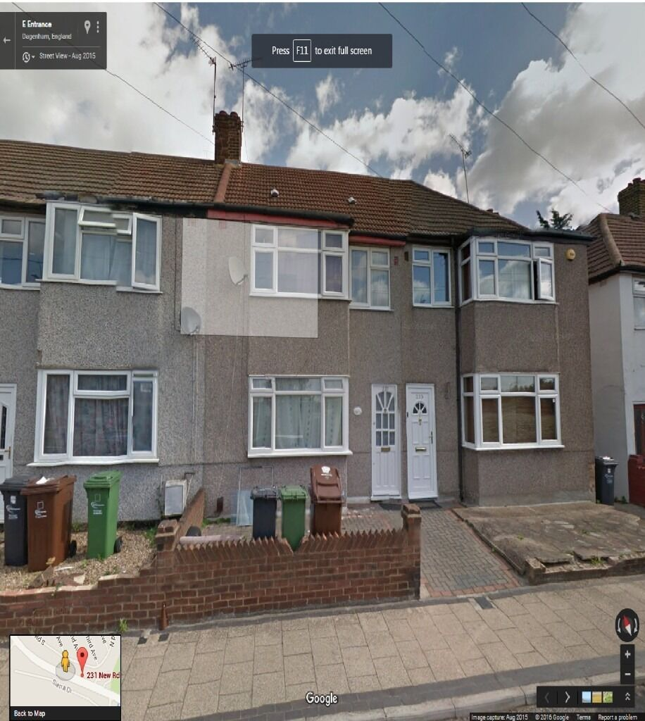 VERY SPACIOUS 3 BEDROOM HOUSE TO RENT IN DAGENHAM (RM10) NEW ROAD