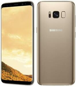 Samsung Galaxy SM-G955FD S8 Dual SIM 64GB Midnight Black/Orchid Gray/Maple Gold - Factory Unlocked