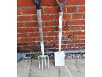 Vintage Spear & Jackson Border/Ladies Fork and Spade
