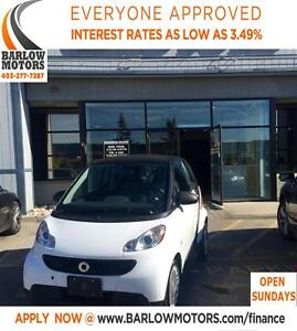 2013 smart fortwo PURE CLOTH**AMVIC INSPECTION & CARPROOF PROVID