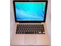 Macbook Pro Laptop - Intel Core i5/2.5Ghz/16GB/1TB/Superdrive/USB/Wifi/Bluetooth/Audio/Firewire etc.