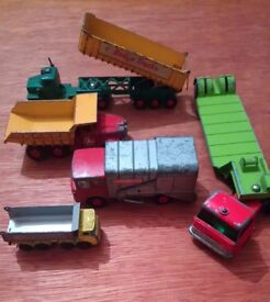 Play worn collectable matchbox toy collection