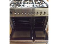 Smeg dual fuel range cooker local delivery