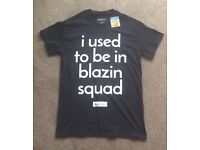 I Used To Be in Blazin Squad Official Love Island Primark X Small T Shirt Blazing