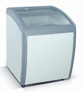 Glass-Top Novelty Ice Cream Display Freezer 160 and 360 Litre