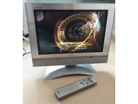 LG 17 inch LCD Flatscreen TV with built-in DVD Player